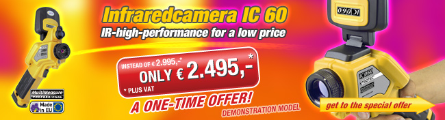 Trotec infrared cameras for a very low price