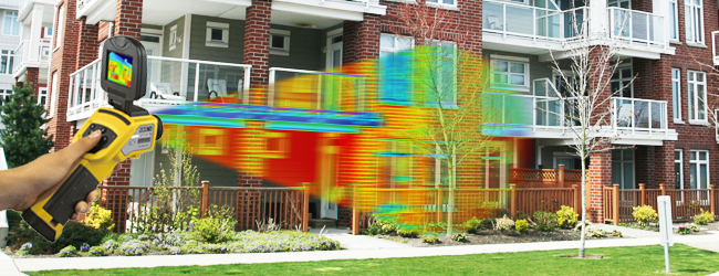 save energy with infrared cameras