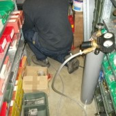 Filling in the tracer gas