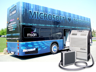 The Microsoft Developer Bus