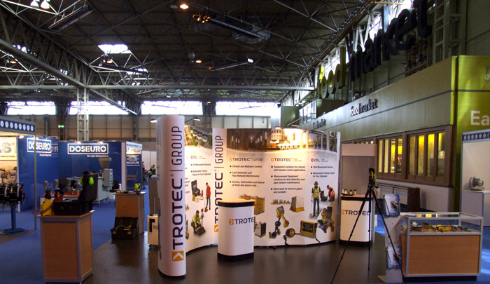 Trotec Stand at IWEX