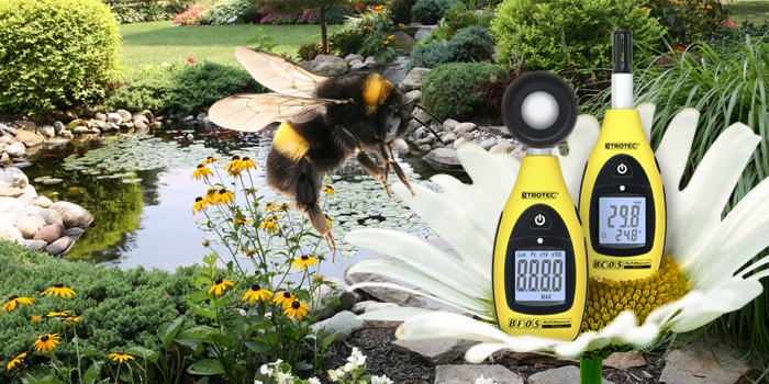 Measuring devices for gardening