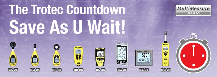 Early Bird Discount for new Measuring Devices