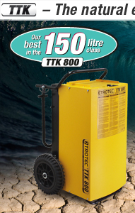 Commercial dehumidifiers TTK 800
