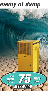 Commercial dehumidifiers TTK 400