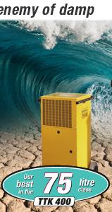 Commercial dehumidifiers TTK 400