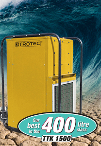 Commercial dehumidifiers TTK 1500