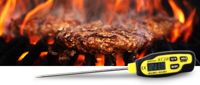 Trotec Meat Thermometer for the perfect steak