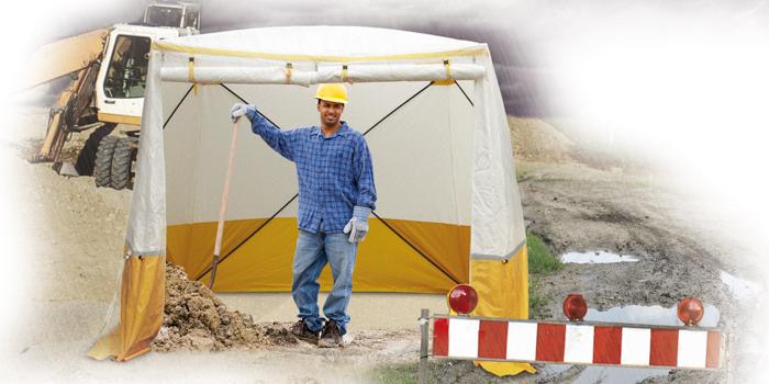 individual work tents