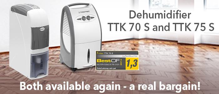 TTK 70 S and TTK 75 S