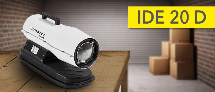 IDE 20 D oil heater