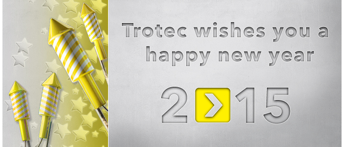 Trotec wishes you a happy new year