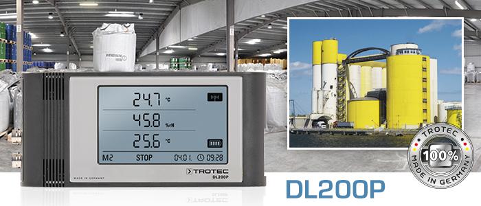 DL200P Professional Data Logger