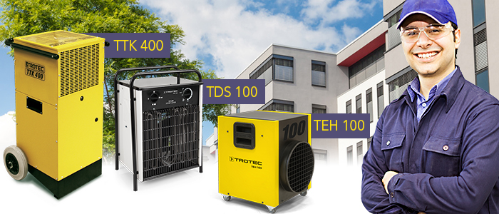 TEH high-performance electric heating units