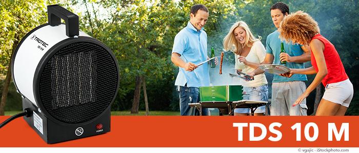 TDS 10 M Ceramic Fan Heater