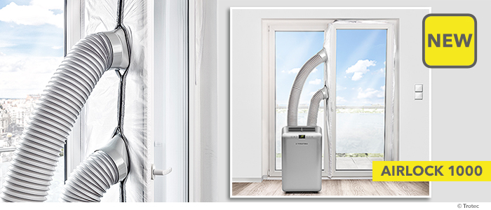 The AirLock from Trotec is one of the most bought sealants in Europe for the combined use with single or dual-hose air-conditioning equipment.  sc 1 st  trotec-blog.com & NEW AirLock 1000 \u2013 sealant for terrace and balcony doors and floor ...