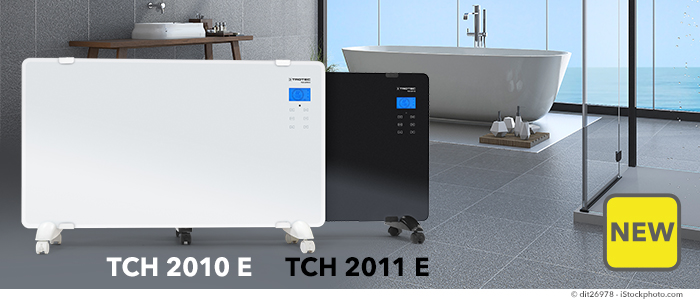 NEW TCH Series Glass Design Convector – finally available!
