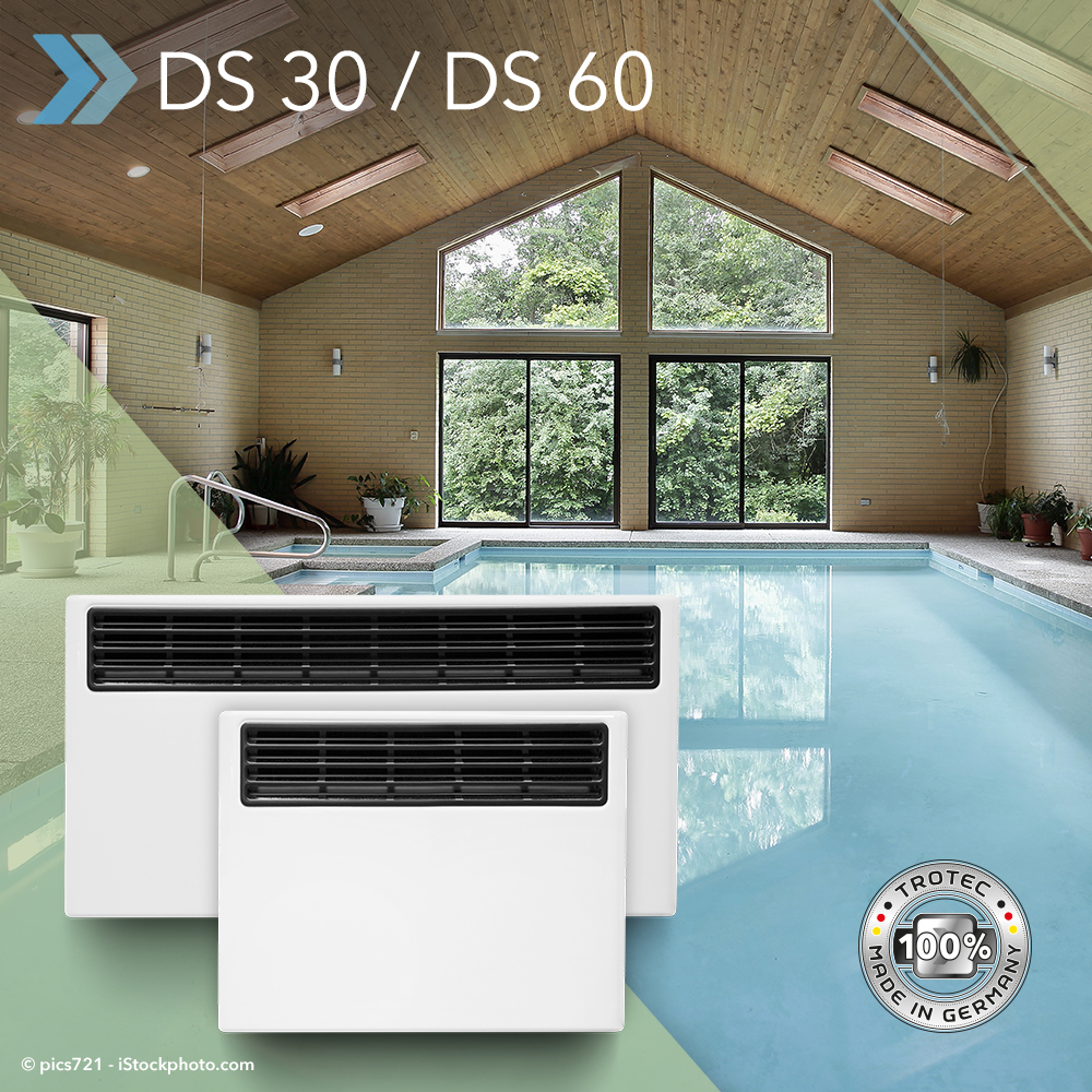 Pool dehumidifiers DS 30 and DS 60 – keep swimming pools and ...