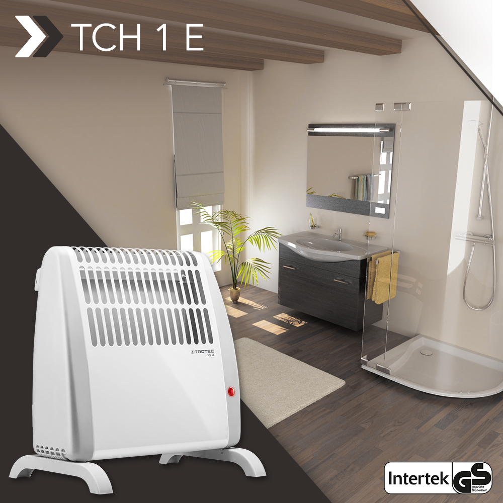 Convector TCH 1 E – brings clean, condensation-free and