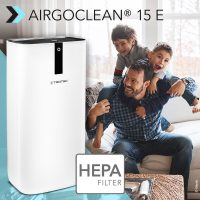 NEW Design Air Purifier AirgoClean® 15 E: provides you and your family with clean breathing air indoors – available again