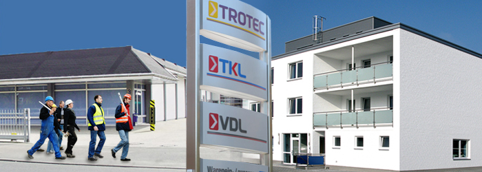 Edificios de la empresa Trotec