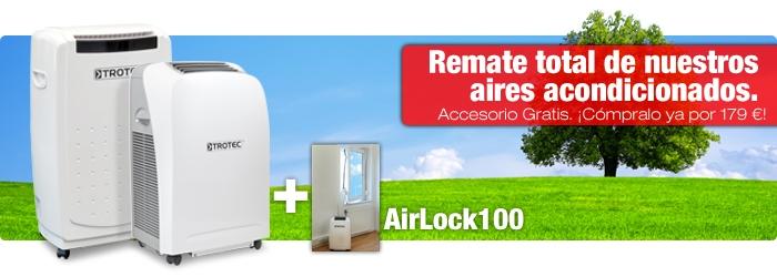 Nuestros equipos de aire acondicionado con accesorio en nuestra tienda online.