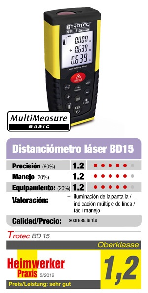 El metro láser BD15 en nuestra página Web.