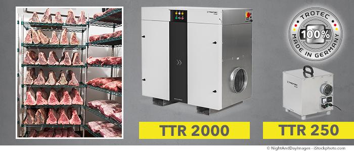 luftentfeuchterfleischreifung