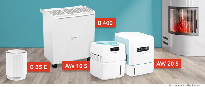 humidificadores y purificadores de aire