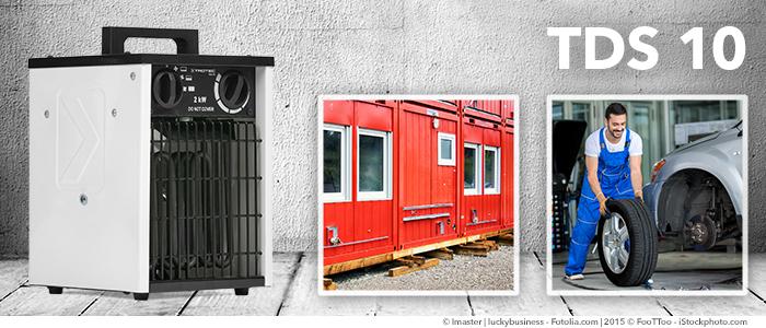 Soplador calefactor eléctrico