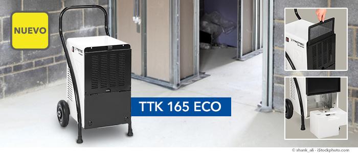 Deshumidificador TTK 165 ECO