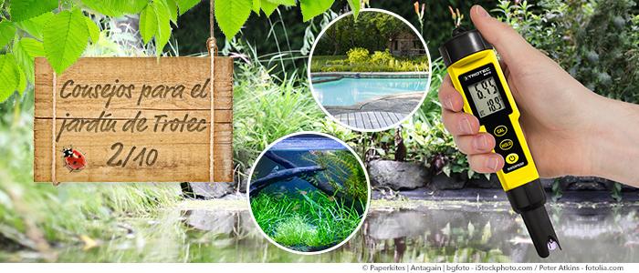 Consejos para el jard n de trotec control del valor de ph - Bajar ph piscina casero ...