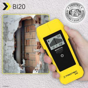 Escáner de pared BI20: para localizar de forma precisa cables con corriente, así como madera y metal en paredes y techos, ¡otra vez disponible!