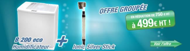 Le purificateur Ionic Silver en cadeau
