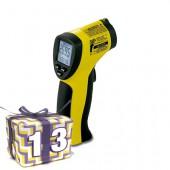 Pratique et précis : le thermomètre infrarouge BP 20 permet de mesurer la température sans contact