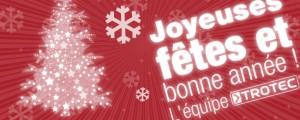 Toute l'équipe Trotec vous souhaite un joyeux Noël et une bonne année et se tient à votre disposition même pendant les fêtes.