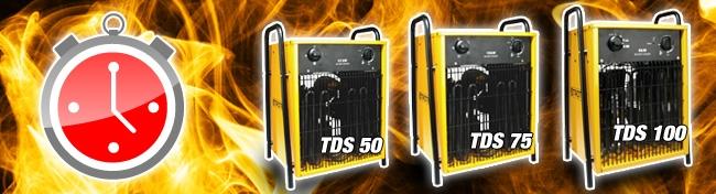 Promotion sur les chauffages électriques Trotec TDS