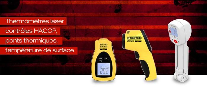 pyromètres laser   thermomètres infrarouge