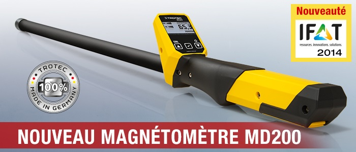 Magnétomètre Trotec MD200