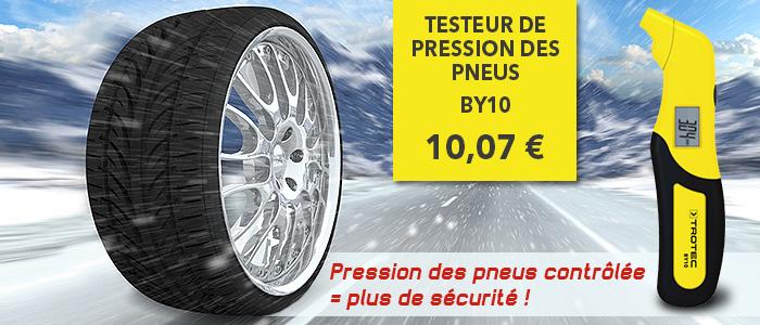 testeur de pression des pneus portable