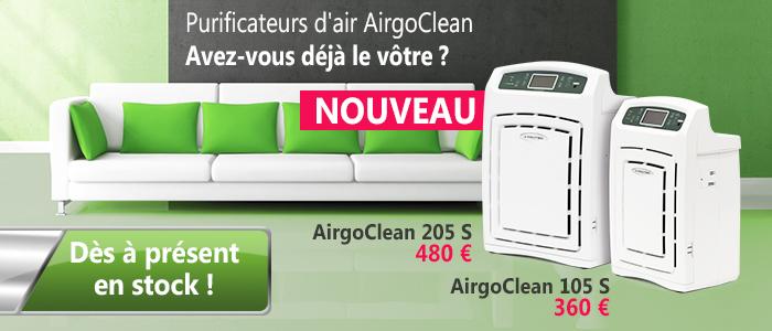 Purificateurs d'air AirgoClean pour l'intérieur