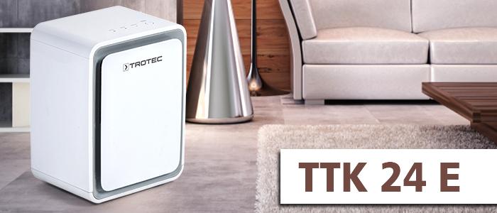 petit déshumidificateur d'air TTK 24 E