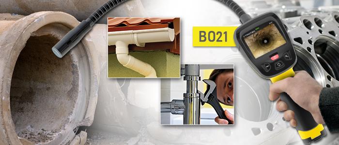 Endoscope vidéo Trotec BO21