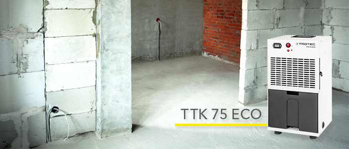 Déshumidificateur en promotion Trotec TTK 75 ECO