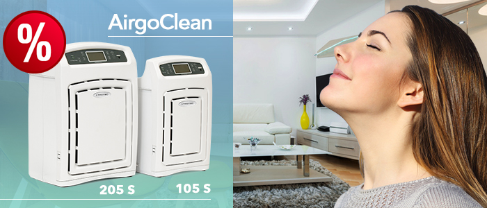 purificateurs d'air airgoclean pour la maison ou le bureau