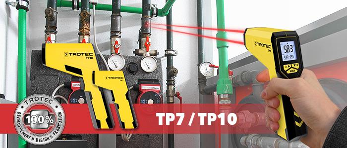 pyromètre infrarouge tp7 tp10 trotec