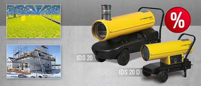 générateur d'air chaud au fuel IDS 20 IDS 20 D Trotec