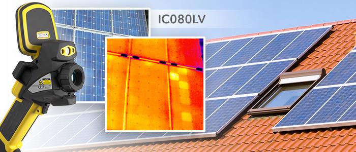 caméras thermiques pour contrôle de panneaux solaires