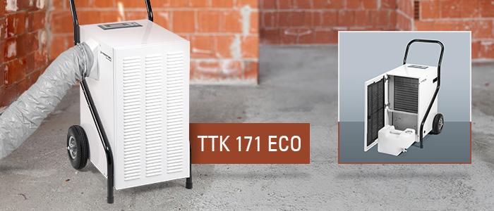 déshumidificateur professionnel TTK 171 Eco trotec