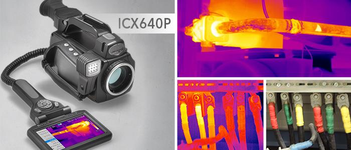 icx640p cam ra thermique haute r solution maintenance industrielle. Black Bedroom Furniture Sets. Home Design Ideas
